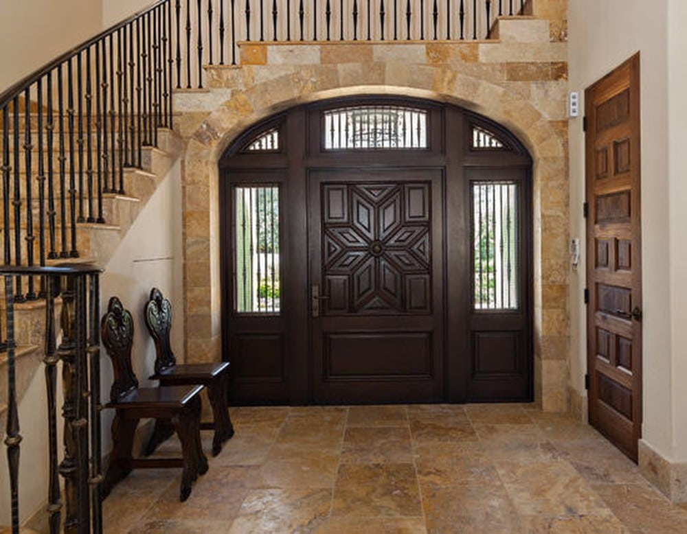 Cửa chính dạng hình cung tối kỵ trong thiết kế nhà ở