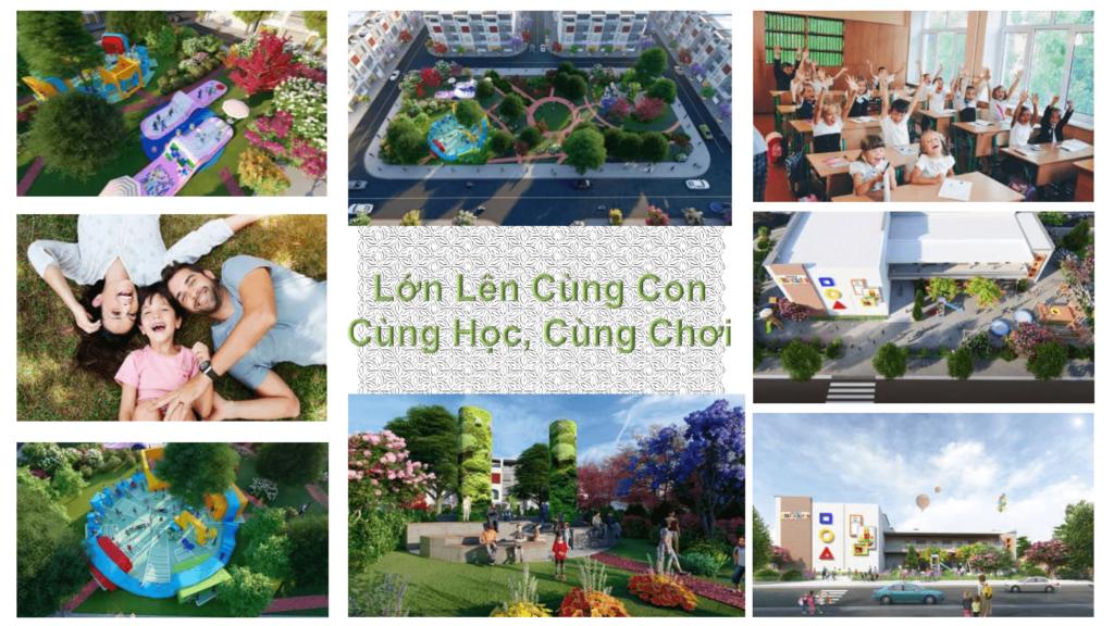 tiện ích dự án fenix city Hậu Giang 2